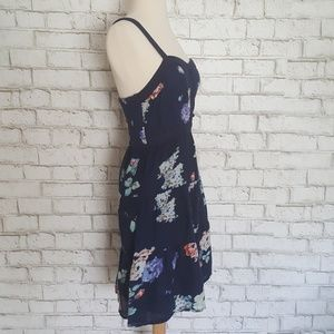 American Eagle Outfitters Dresses - American Eagle Floral Smocked Crossback Dress